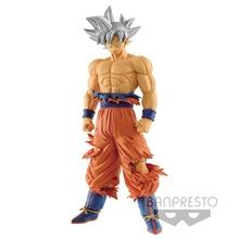 Banpresto figura de acción de Dragon Ball Super Grandista ROS GROS Goku Ultra Instinct, modelo de PVC, 28cm, juguetes DBZ, regalos