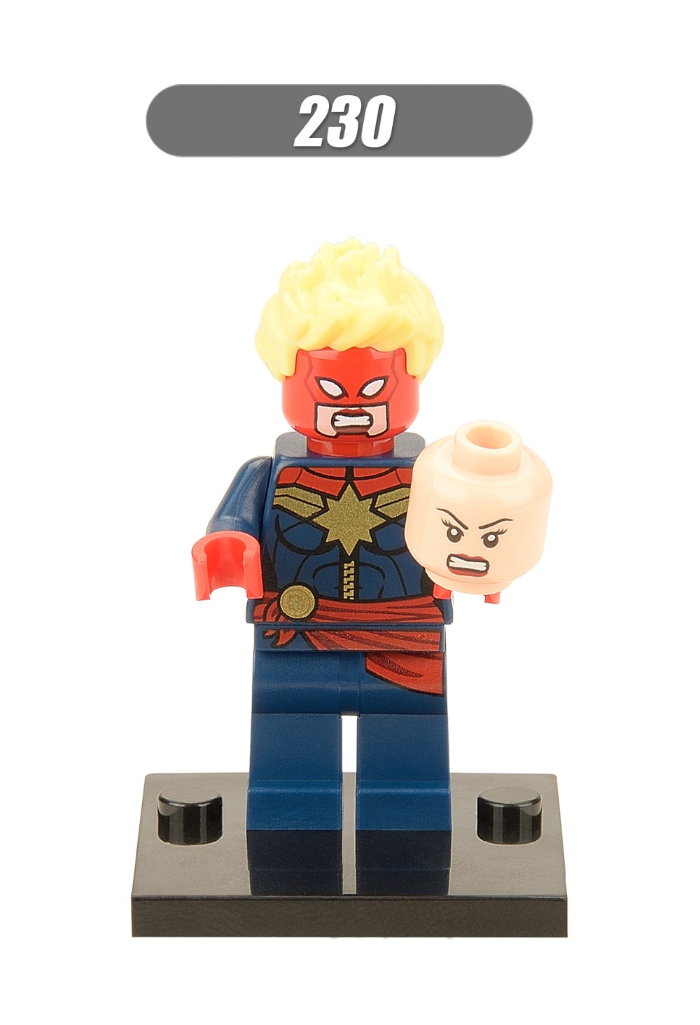 XH 230 Building Blocks Super Heroes <font><b>Avengers</b></font> Minifigures <font><b>Red</b></font> <font><b>Skull</b></font> Bricks <font><b>Action</b></font> <font><b>Assemble</b></font> Model Children Bricks Mini <font><b>Figures</b></font> Toy