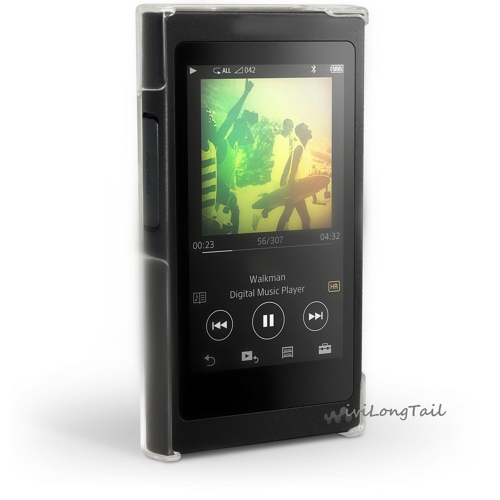 For Sony Walkman NW A35 A36 A37 Case mp3 Crystal Cover A35HN A36HN A37HN NW-A35 Music Player Transparent PC Hard Case Shell Bag