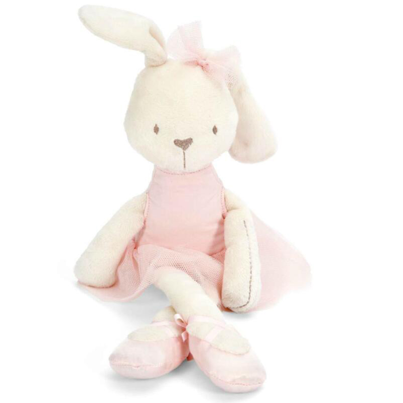 42cm Hot Sale Soft Bunny Rabbit Plush Toy Stuffed Animal Doll Sleeping Cute Large Lovely Animal Kids Baby Birthday Gifts YZT0187 28inch giant bunny plush toy stuffed animal big rabbit doll gift for girls kids soft toy cute doll 70cm