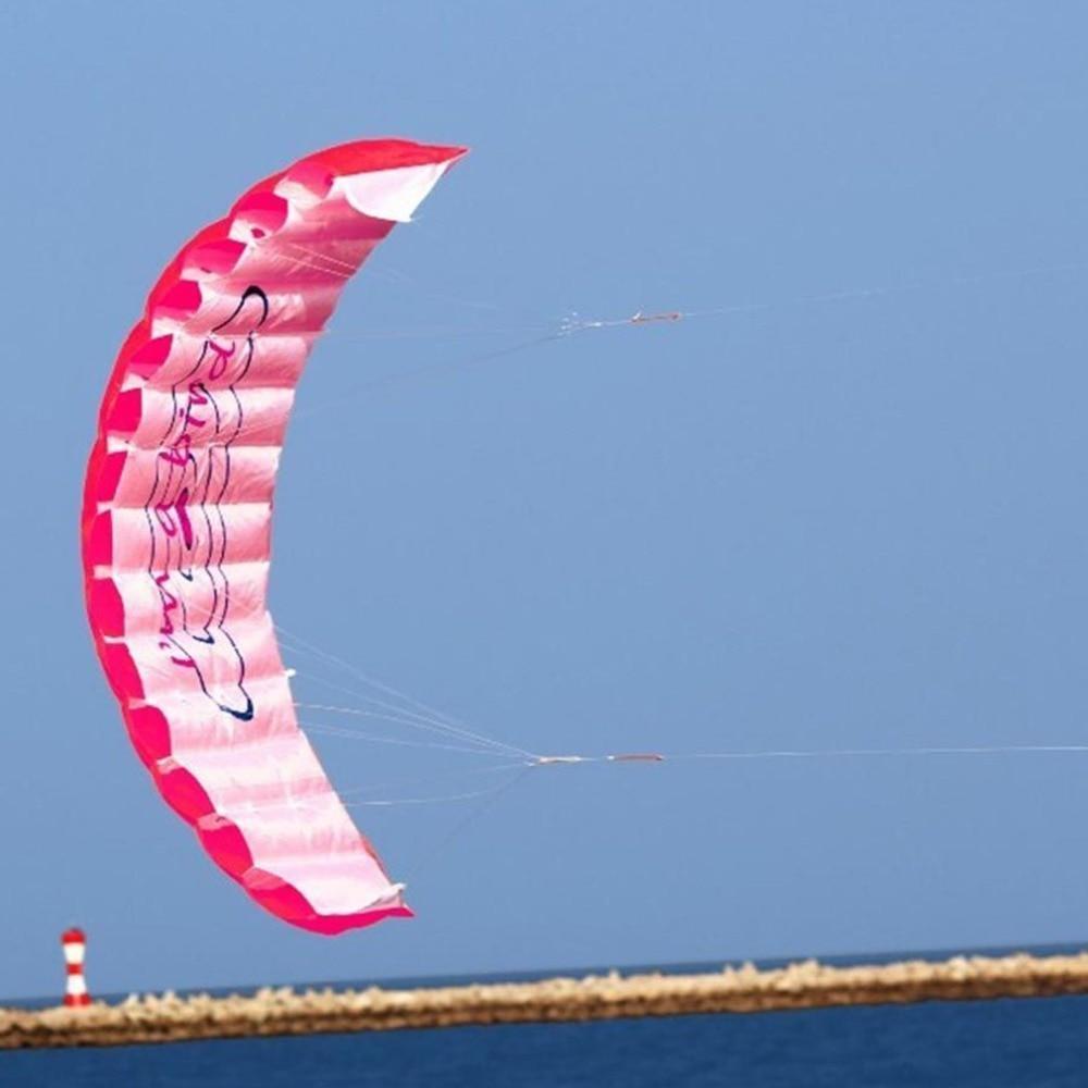 HTB18FSPKb5YBuNjSspoq6zeNFXal - ร่มพาราไกลดิ้ง ขนาด 1.4 เมตร แบบคู่ ร่มไนลอน กีฬาทางน้ำ กีฬาชายหาด เล่นกลางแจ้ง Parachute Surfing Kite Paragliding -