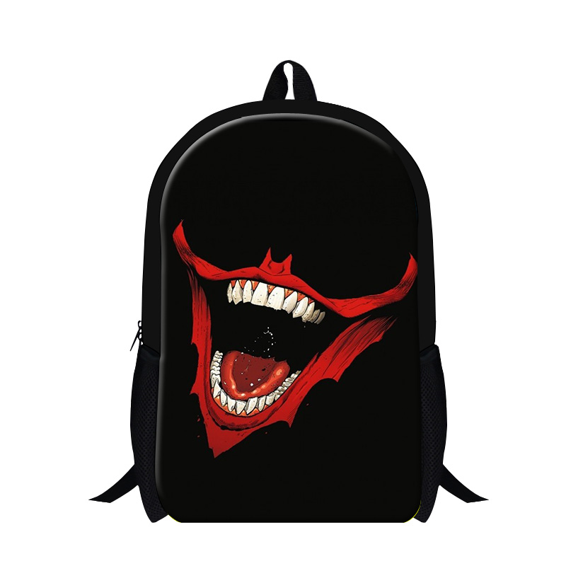 Skull School Bags for Teenagers Fashionable Backpacks for boys guy back pack  child stylish bookbags bagpack for Primary students de577b4305