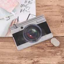 Camera Design Travel Card Case New boys like cool cartoon passport holders, men travel cover, pvc leather 3D