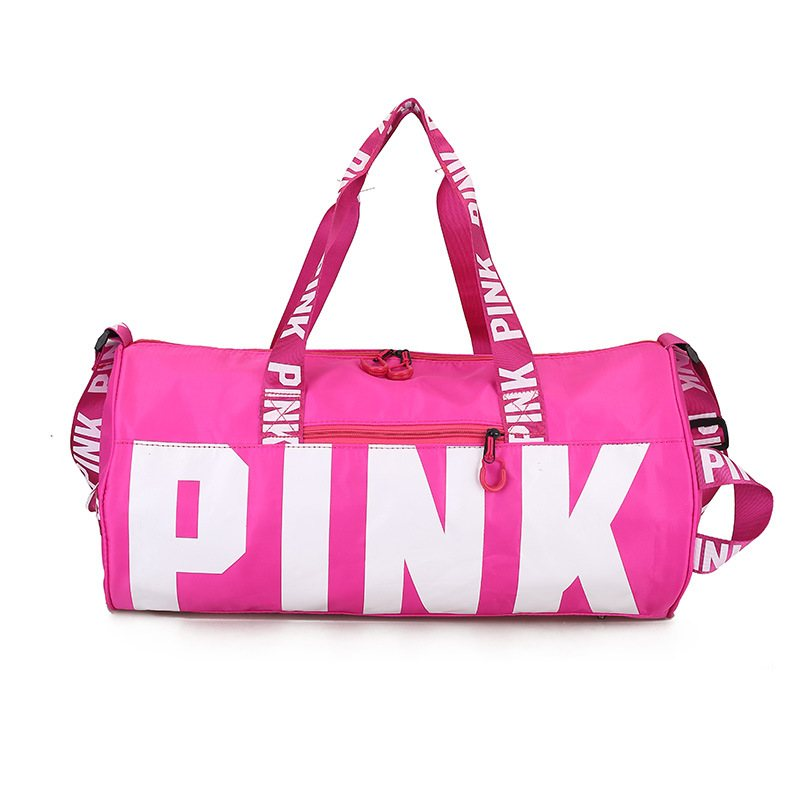 Men Women Weekend Package Travel Bag Shoulder Bag Portable Large Capacity Waterproof Pink Women Handbag Victorian Bag VS Bag2019