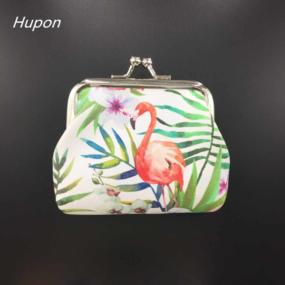Animal Flamingo Mini Coin font b Purses b font Birthday Party Decorations for Kids PU Leather