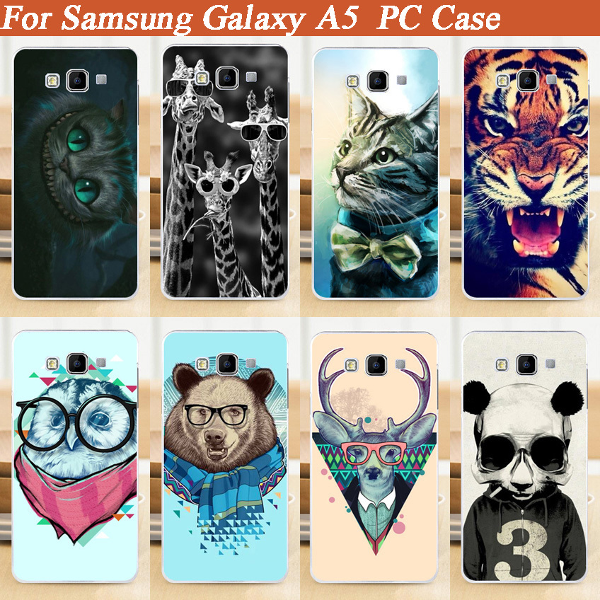 15 Patterns Hard PC Case Cover FOR Samsung Galaxy A5 A500 A5000/painting colored for Samsung Galaxy A5 A500 A5000 Case Cover