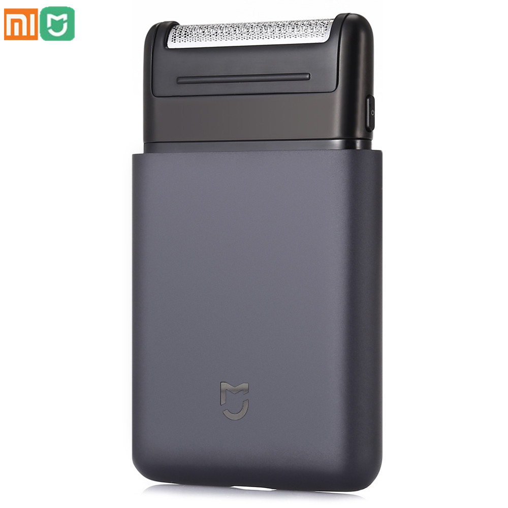 2018 Original Xiaomi Mijia Shaver Portable Electric Shaver Smart Mini Razor Fully Metal Body Trimmer Wireless Shaver Mens Travel 2018xiaomi mijia mini portable men electric shaver razor fully metal body japan bit usb type c rechargeable travel shaver