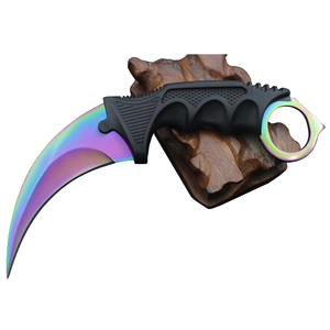 CS COLD CS GO knife counter strike karambit knives tactical claw neck knifes real combat fight camp hike outdoor tools 2pcs/lot
