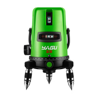 Green light level laser 2 line 3 line 5 line flat water meter high precision infrared automatic line caster