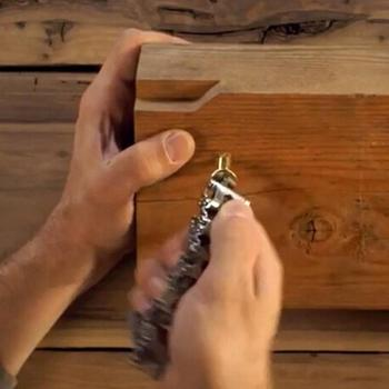 Multi function Tool Wearable Stainless Steel Bracelet 3
