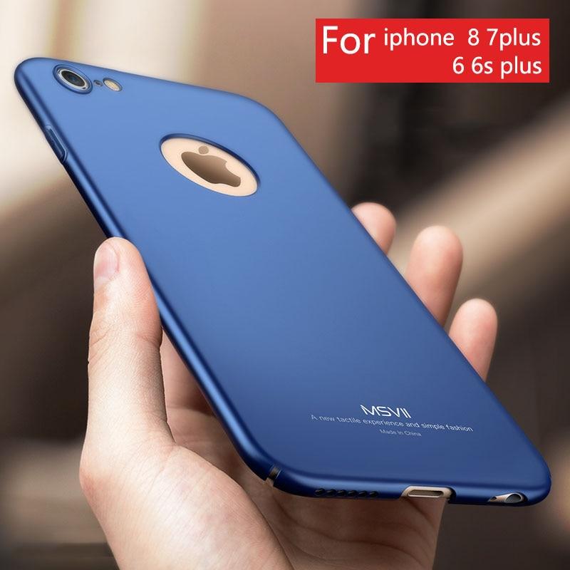 Ultra Mince De Luxe Téléphone Cas de Couverture Arrière Pour Apple Iphone X 7 8 Plus 6 6 s 5 5S SE Cas De Mode Pour L'iphone 6 s Téléphone Retour couverture