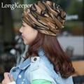 Autumn 3 way to wear(as beanies\ring scarf\headscarf)gorro beanie cap winter hat for women bonnet femme gorros e toucas feminina