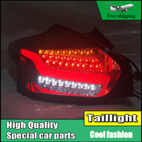 Car Styling Tail Light For Ford Focus Hatch Back Taillights 2015 2017 Full LED Tail Lamp