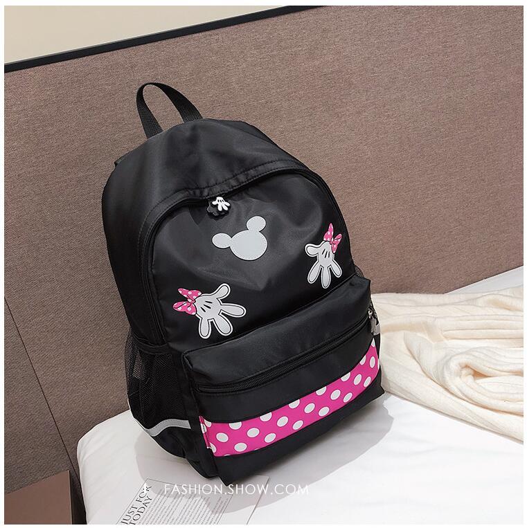 Mickey bolsa de Ombro Da Lona Estudante