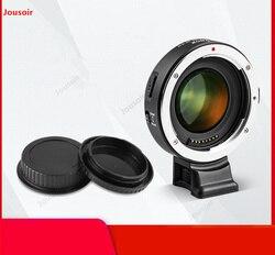 EF-EII Autofocus transfer ring C lens to S Micro single e card port a7m3 a7R3 increase aperture band lenses CD50 T07