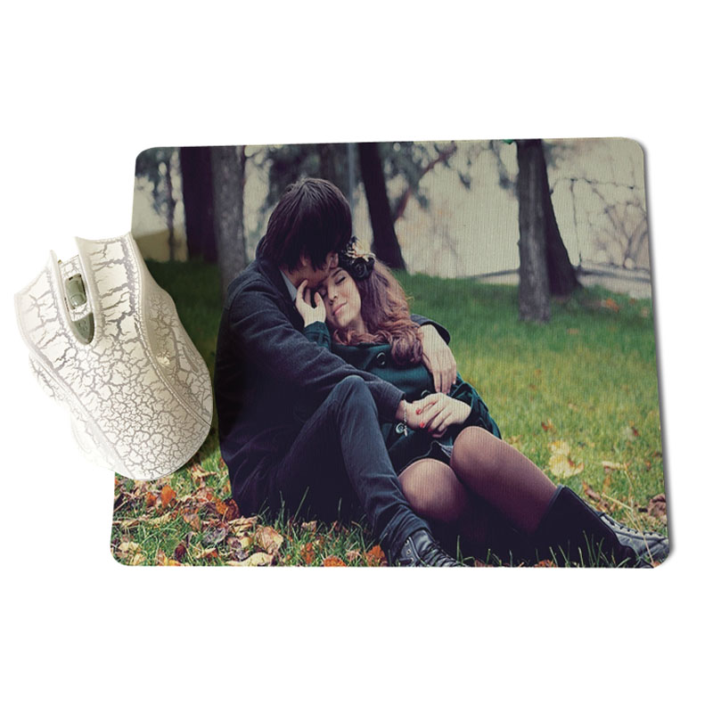 Babaite Top Quality Love Couple Customized MousePads Computer Laptop Anime Mouse Mat Size for 18x22cm 25x29cm Rubber Mousemats