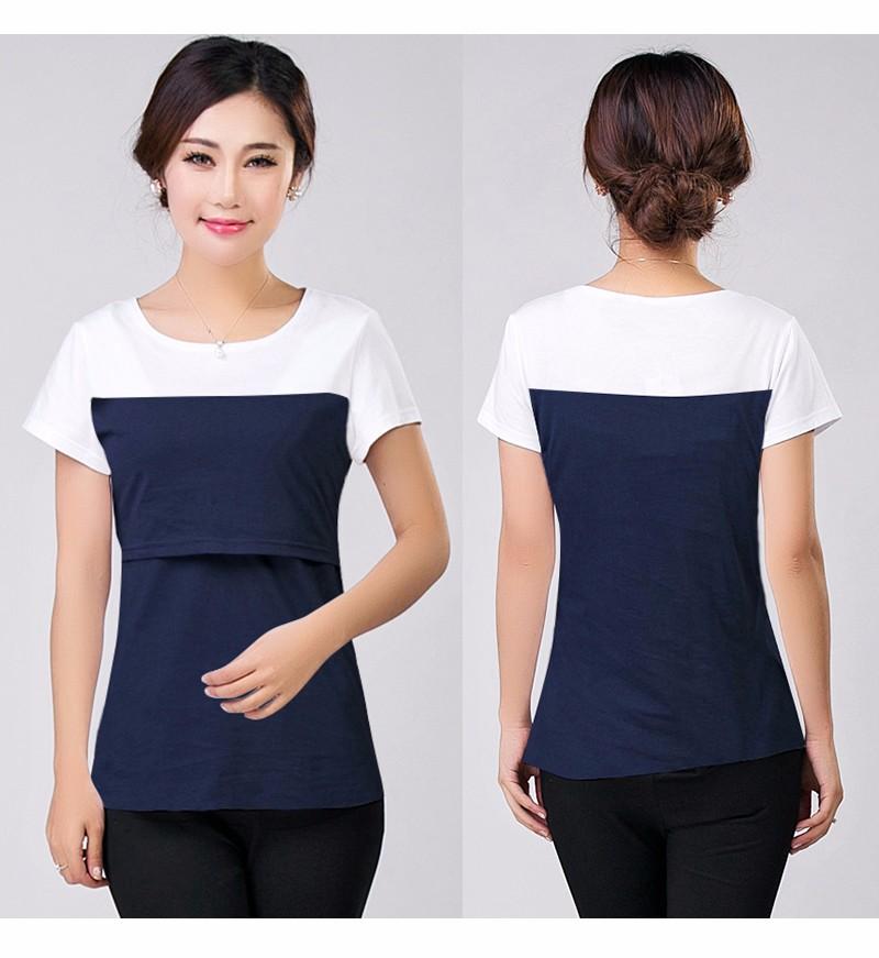 2016 lato macierzyństwo pielęgniarstwa ubrania kobiet w ciąży karmienie piersią karmienie piersią nakrywa trójniki t-shirt maxi premama nosić clothing 16