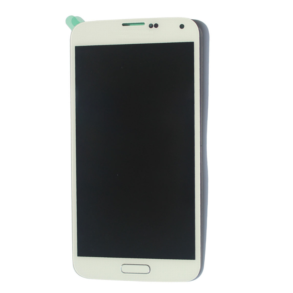 OEM White For Samsung Galaxy S5 G900A G900T G900V LCD Screen Digitizer