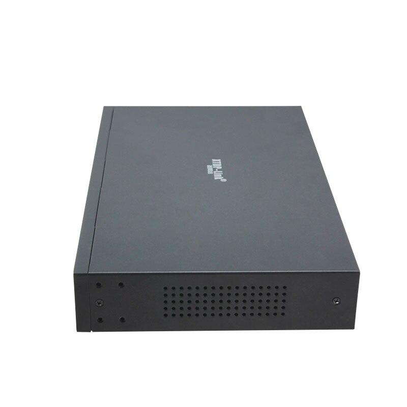 HYY8 smart bureau montage mural gérer 8 + 2 gigabit ethernet commutateur 150 w IEEE802.3af/at poe pour 960 P/1080 P 2MP 3MP hd caméras ip - 4