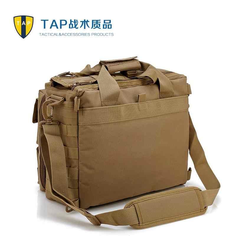 7d3df68b4717 ... Мужские армейские сумки через плечо Molle Спорт на открытом воздухе для  ноутбука камера Военная тактическая сумка ...