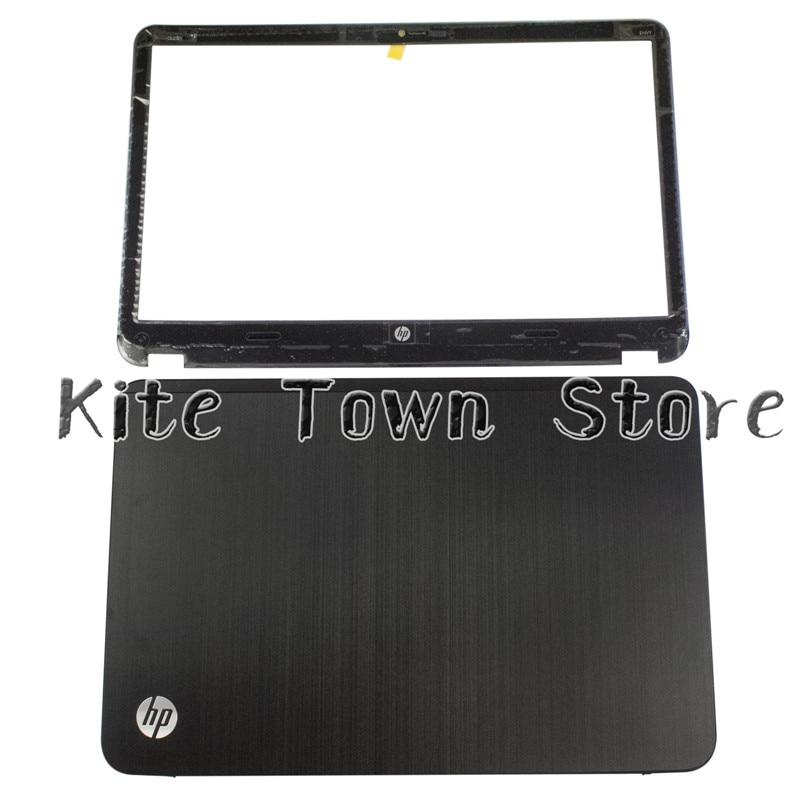New LCD Back Cover & Front Bezel For HP Envy6 Envy 6-1000 692382-001 Black  цены онлайн