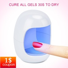 YBLNTEK Lamp for Nails UV LED Lamp Nail 3W Mini USB Lamp for Manicure Nail Gel Curing Lamp Light Nail Gel Polish Dryer red light 60w auto led uv lamp for nails nail dryer lamp for gel polish with infrared induction ultraviolet lamp for manicure
