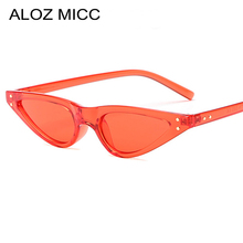 ALOZ MICC Fashion Cat eye Sunglasses Women Men Sexy Small Water