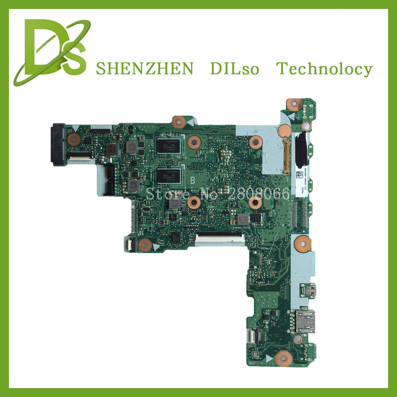 все цены на  For ASUS E205SA Laptop motherboard E205SA mainboard REV2.0 integrated cpu onboard freeshipping 100% tested  онлайн