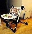 A cadeira de bebé multifuncional crianças cadeira dobrável portátil cadeira assento infantil do bebê para comer