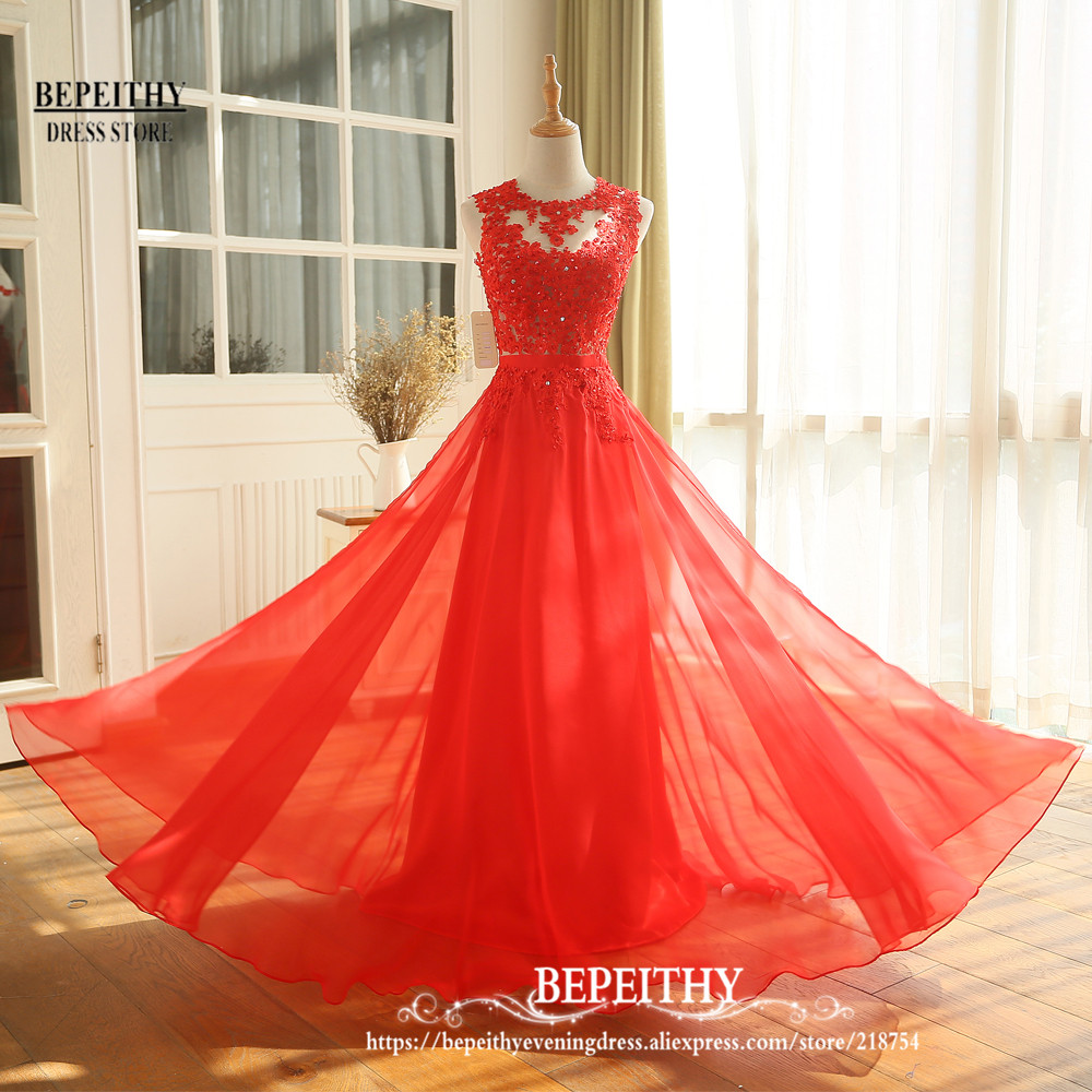 Novi Dolazak Čipka Top Long Prom haljina Vestido De Festa Longo - Haljina za posebne prigode - Foto 5