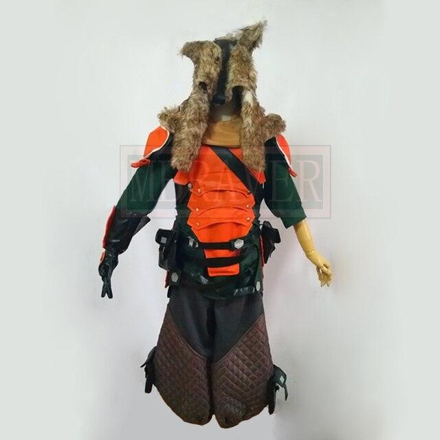 9a830b25 OW Hanzo Shimada Lone Wolf Skin Cosplay Costume Halloween Uniform Hat+Shirt+Pants+Belt+Bag+Gloves  Custom-made