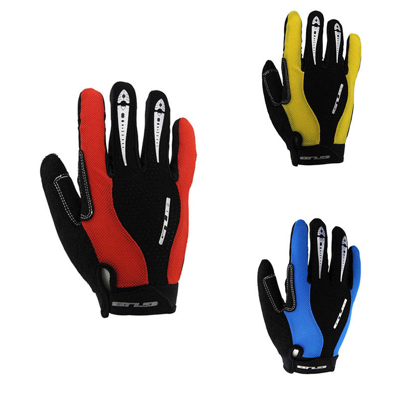 Big Brand Bike Bicycle Gloves Full Long Finger MTB Cycling Sports Riding Racing Gloves Mountain bike Gloves SS