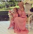 summer 2016  family matching clothes chiffon maxi beach mother daughter dresses party family look mother and daughter clothes