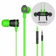 Cancelación de ruido Auriculares Para Juegos con Micrófono Imán de Videojuegos Super Bass Auriculares con Cable de Extensión y Transferencia DEL G-20