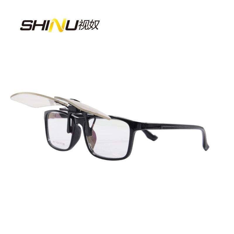 Blue Light Blocking Cip on Glasses Anti Blue Ray-datorglasögon 100% - Kläder tillbehör