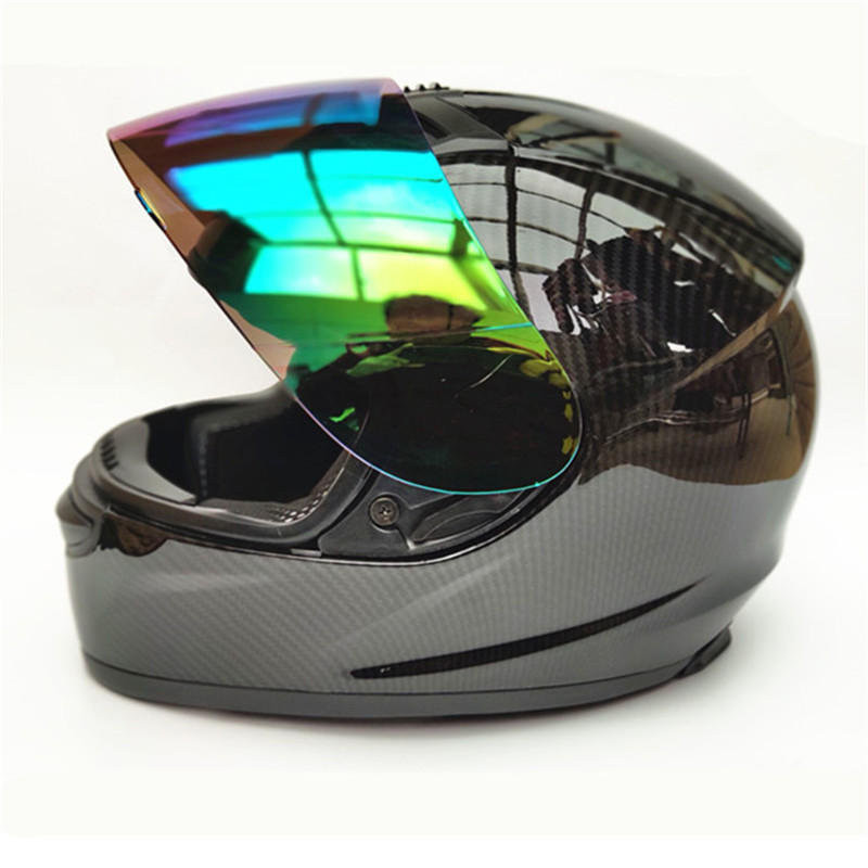 Motorcycle Helmet Motocross Off Road Helmet Moto Men Full Face Helmet Motocross Racing Motorbike Carbon fiber
