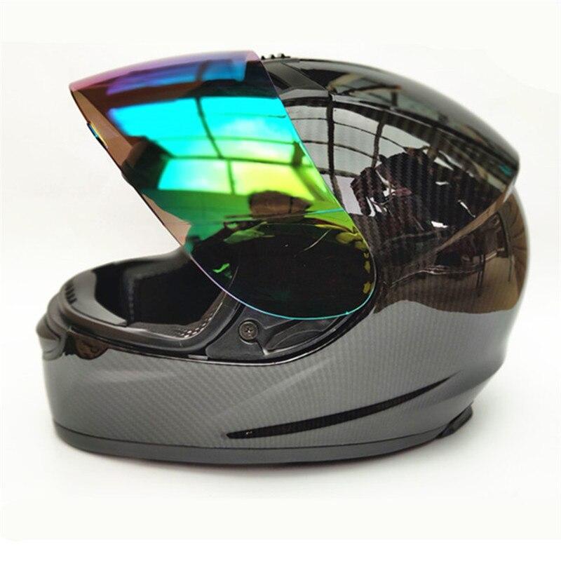 Motorcycle Helmet Motocross Off Road Moto Men Full Face Racing Motorbike Carbon fiber painting Casco