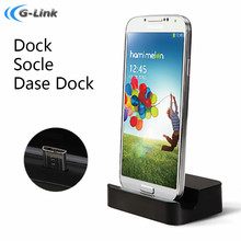 Micro USB Sync Stand Dock Cradle Station Charger for Samsung Galaxy S3/S4/S4 mini S5 /Note 2 3 Sony HTC mobile charger