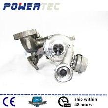 GT1749VB Турбокомпрессор для Audi A3 1,9 TDI ARL 110 кВт/150 hp 721021 полный Турбокомпрессор 038253016G 038253016GX турбина 721021-5
