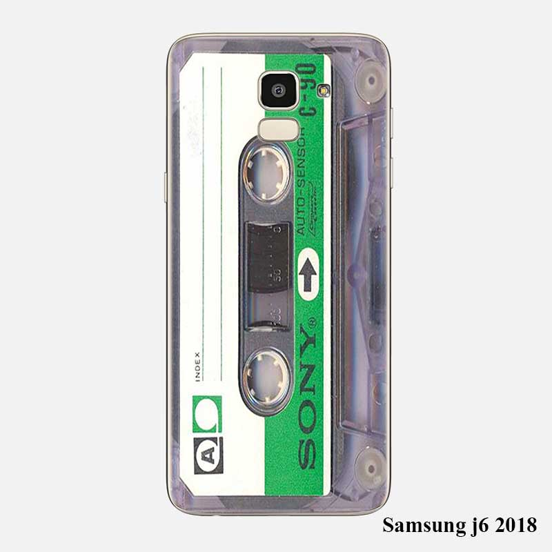 transparent soft silicone phone cases classical old cassette for samsung galaxy j8 j7 j6 j5 j4. Black Bedroom Furniture Sets. Home Design Ideas