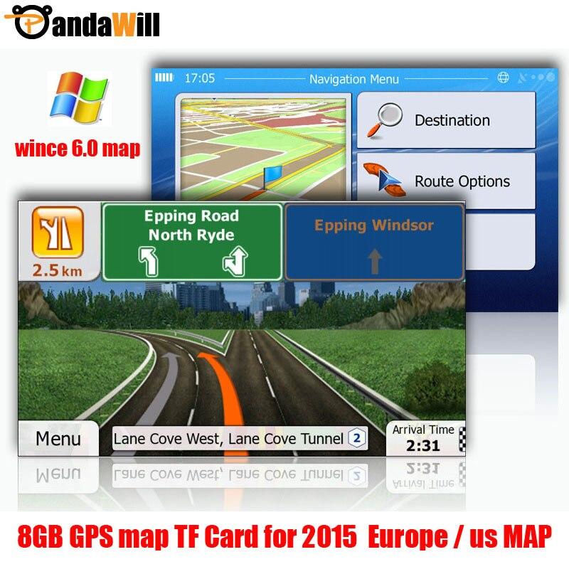 gps carte europe et usa