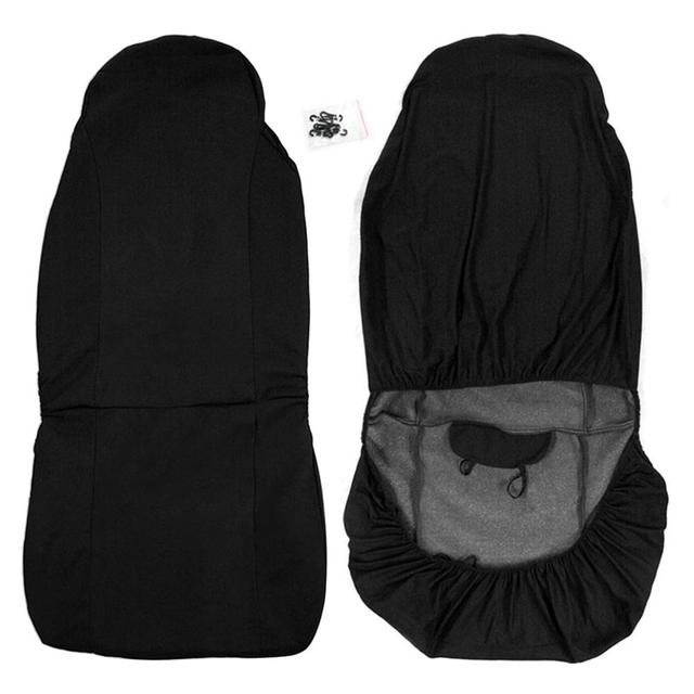 1PC Universal Car Seat Cover Durable Auto Front Rear Seat Cushion Waterproof Anti Dust Cushion Covers Car Seat Protector