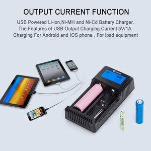 Image 4 - Smart Battery Charger 18650 Charging for Rechargeable Li ion Batteries 26650 18650 14500 16340 AA AAA  1.2V 3.7V 12V 24V