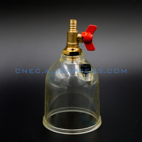 FUEL WATER SEPARATOR BOWL With Tap For 500FG FOR RACOR High Quality