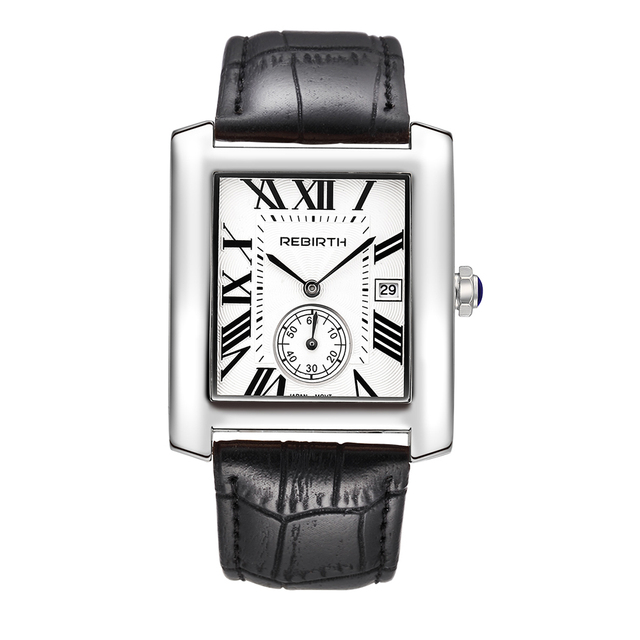 b56656375de7 REBIRTH винтажные квадратные женские часы 2018 люксовый бренд для женщин  нарядные ...