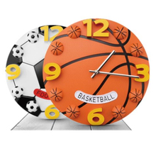 Personalized Football Basketball Hanging Wall Clocks