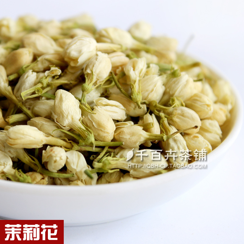 Premium 2015 jasmine flower tea involucres tea herbal tea fragrance of the emollient soothe the nerves 50g beauty free shipping 2015 yr new tea premium jasmine pearl tea jasmine longzhu flower tea green tea 250g bag vacuum packaging