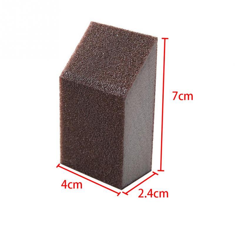 US $1 08 14% OFF 3pcs Magic Sponge Brush Aluminum Oxide Emery Sponge Rust  Dirt Stains Clean Brush Bowl Washing Pot Home Kitchen Cleaning Brush-in