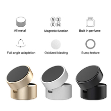 Lantro JS Magnetic Phone Holder Car Dashboard Air freshener Refill Two in One Fordable with Glass Empty Bottle