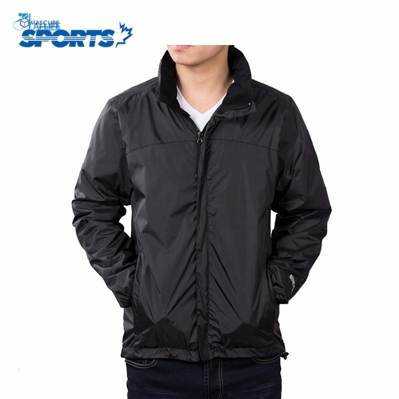 ФОТО New Long Sleeve Outdoor Softshell Jacket Men Waterproof Coat Climbing Fishing Hiking Rain Jacket Sport Suit